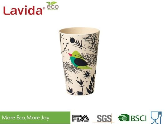 China Reusable Bamboo Travel Coffee Mug BPA Free Non - Toxic High Temperature Tolerance supplier
