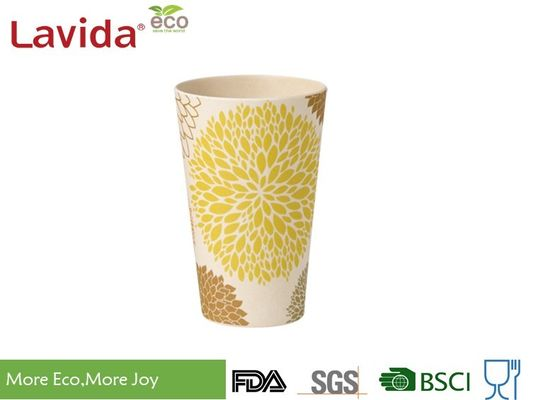 China 15.6oz 440ml Bamboo Fiber Tumbler Smelless Safe Heavy Metals Free For Special Event supplier