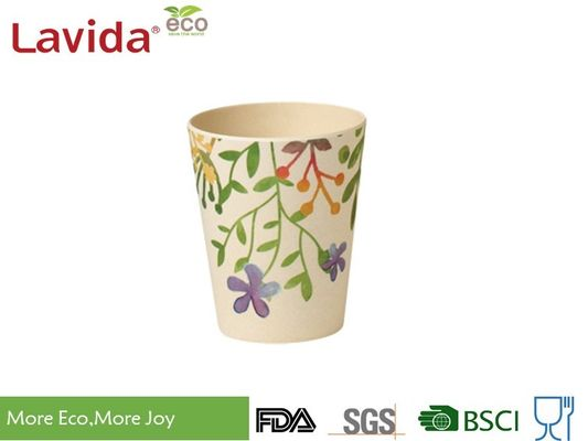 China Durable Biodegradable Bamboo Fibre Coffee Cup Waterproof With Delicate Appearance supplier