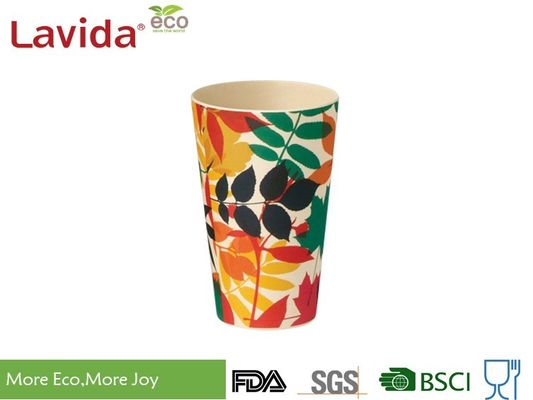China Heavy Metal Free Bamboo Fiber Tumbler Heat - Resistance For Restaurant / Cafeteria supplier