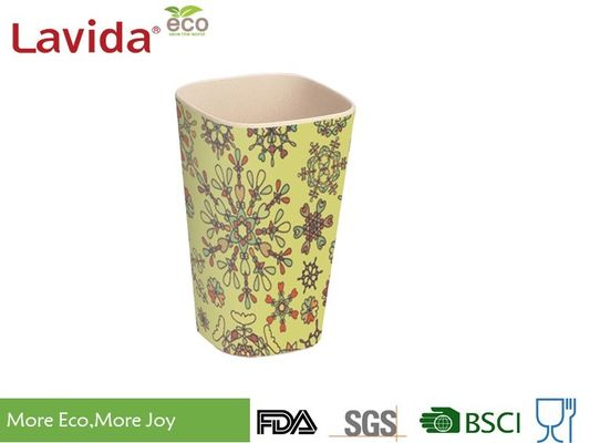 China Small Size Recycled Bamboo Fiber Tumbler Dishwasher Safe Phthalate / Formaldehyde Free supplier