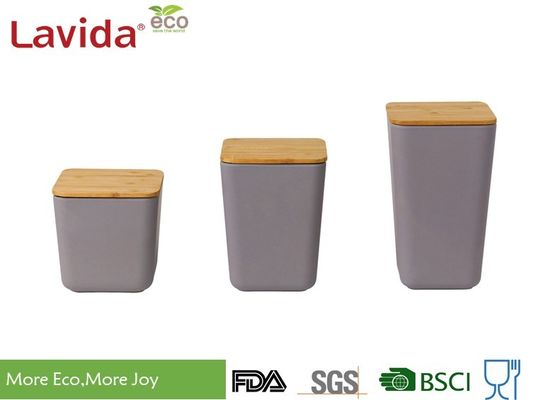 China 3-PC Set Airtight Food Storage Containers Recycled Smelless With Long Life Time supplier