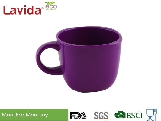 China Indoor / Outdoor Melamine Mug Cup Diameter 8cm Height 7cm Contemporary Modern Style supplier