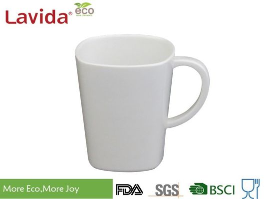 China Unbreakable Melamine Coffee Cups Heavy Metal Free Non - Odor 275ml With Printing supplier
