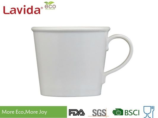 China Shatter Proof 100% Melamine Coffee Mugs , Tasteless Reusable Porcelain Coffee Cups supplier