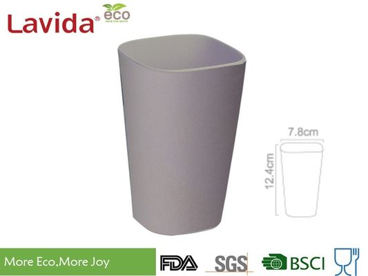 440ml Modern Design Bamboo Fiber Cup , Biodegradable Bamboo Reusable Coffee Cup